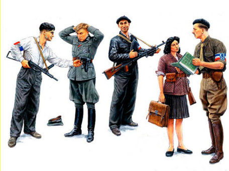 Master Box Maquis, French Resistance 1:35