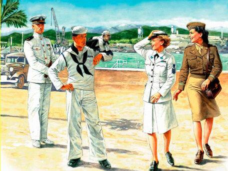 Master Box Women at War: US Navy Waves 1:35