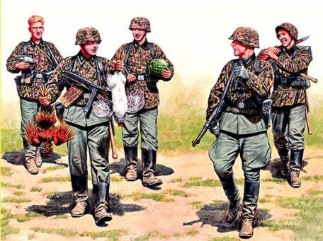 Master Box German Elite Infantry, Eastern Front 1:35