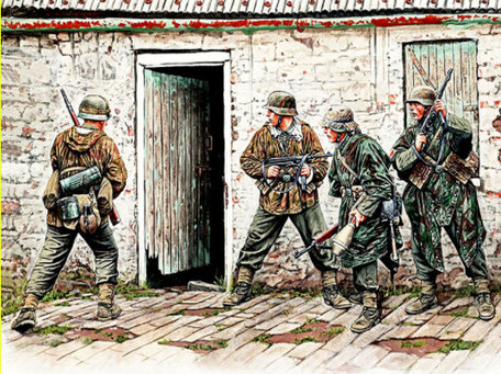 Master Box German Infantry, Western Europe 1:35