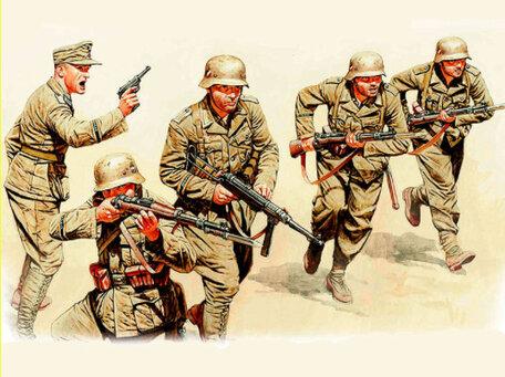 Master Box German Infantry, DAK, North Africa 1:35