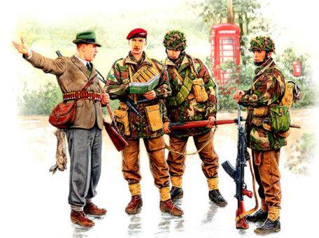 Master Box British Paratroopers 1:35