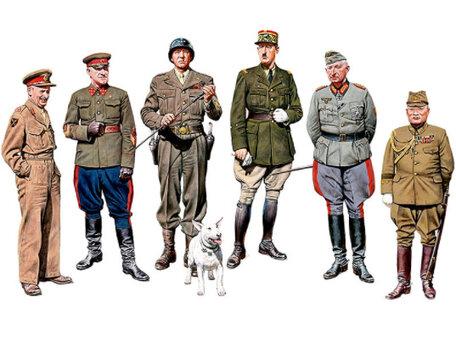 Master Box The Generals of WW II 1:35