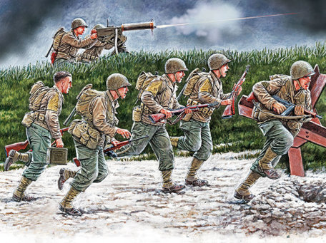Master Box US Soldiers, Operation Overlord 1:35