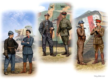 Master Box Tankmen of WWI 1:35