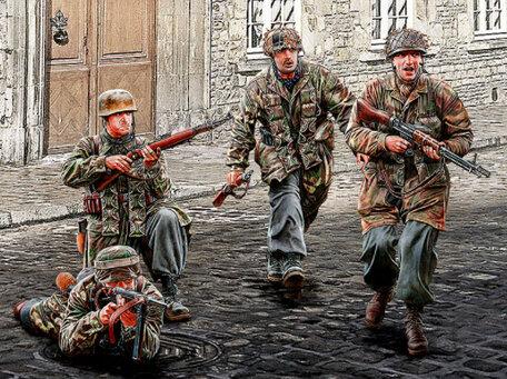 Master Box German Paratroopers 1:35