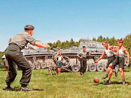 Master Box German Tankers - A Break Between Battles 1:35