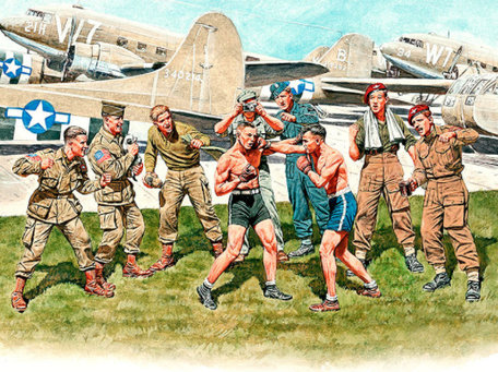 Master Box British and American Paratroopers 1:35