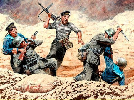 Master Box Soviet Marines and German Infantry 1:35