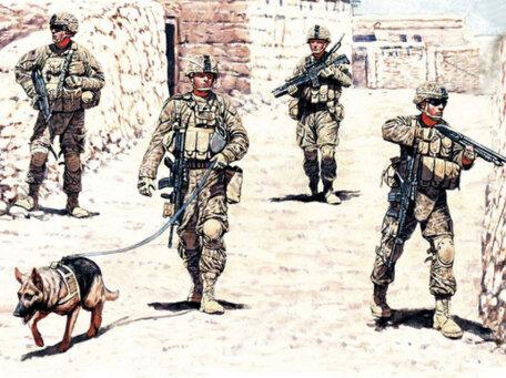 Master Box Modern US infantrymen 1:35