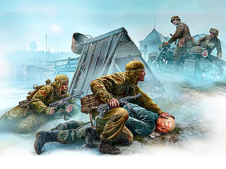 Master Box Crossroad, Eastern Front 1:35