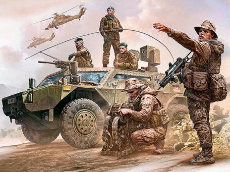Master Box Bundeswehr German Military Men 1:35