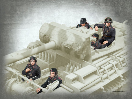 Master Box German Tank Crew 1:35