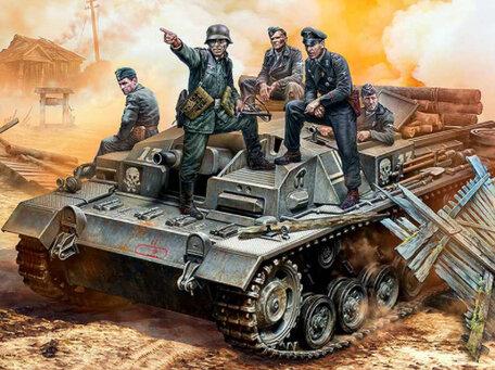 Master Box German StuG III Crew 1:35