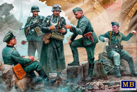 Master Box German Military Men 1:35