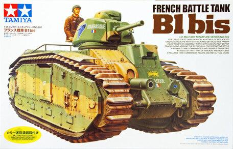 Tamiya French Battle Tank B1 bis 1:35
