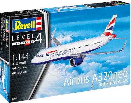 Revell Airbus A320 neo British Airways 1:144