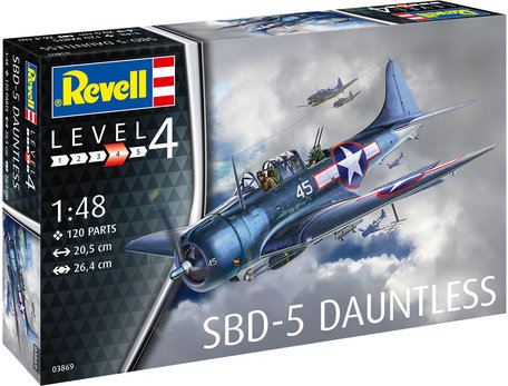 Revell SBD-5 Dauntless Navyfighter 1:48