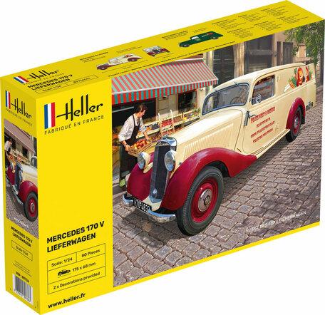 Heller Mercedes 170 V Lieferwagen 1:24
