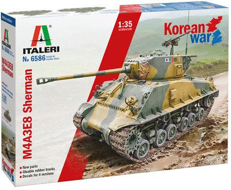 Italeri Sherman M4A3E8 Korean War 1:35