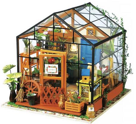 Robotime Kathy's Flower House