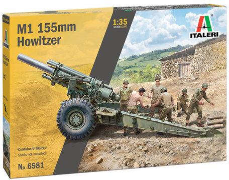 Italeri M1 155mm Howitzer 1:35