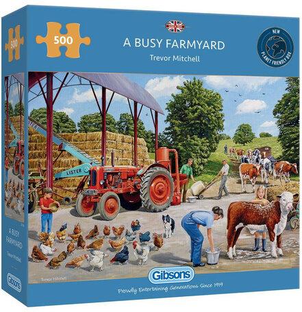 Gibsons A Busy Farmyard (500)