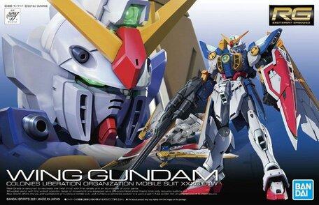 RG 1/144: XXXG-01W Wing Gundam