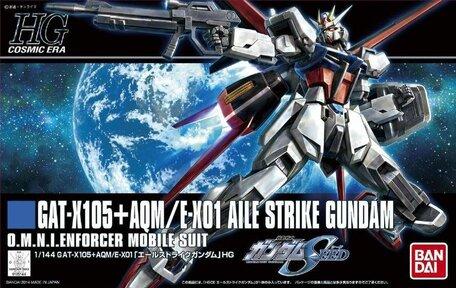 HG 1/144: GAT-X105+AQM/E-X01 Aile Strike Gundam