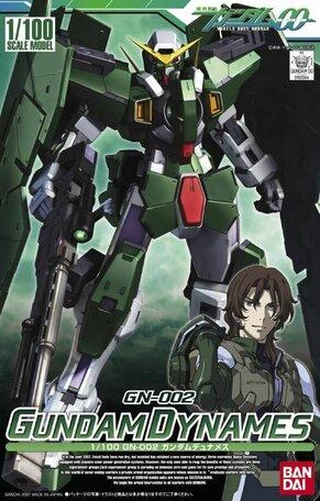 HG 1/100: GN-002 Gundam Dynames