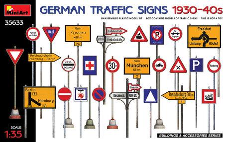MiniArt German Traffic Signs 1930-40s 1:35