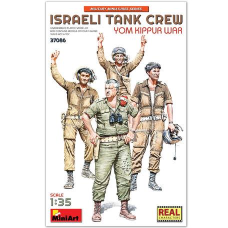 MiniArt Israeli Tank Crew Yom Kippur War 1:35