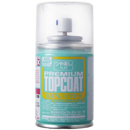 Mr.Hobby Premium Top Coat Flat Vernis Spray 86ml