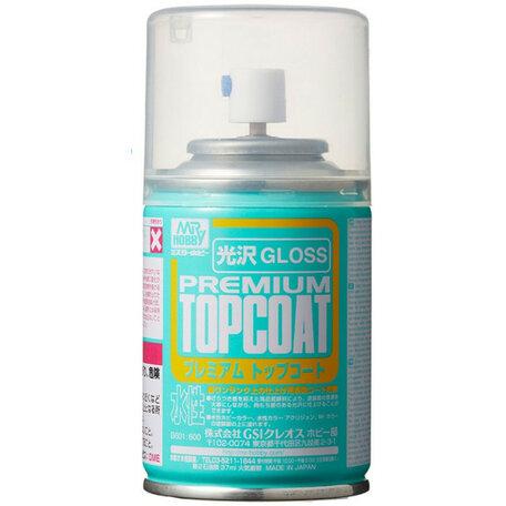 Mr.Hobby Premium Top Coat Gloss Vernis Spray 86ml