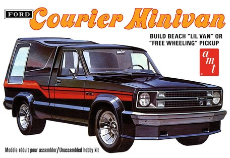 AMT Ford Courier Minivan 1:25