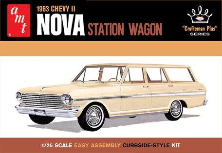 AMT Chevy II Nova Station Wagon 1:25