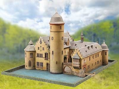 Schreiber Bogen Moated Castle Mespelbrunn
