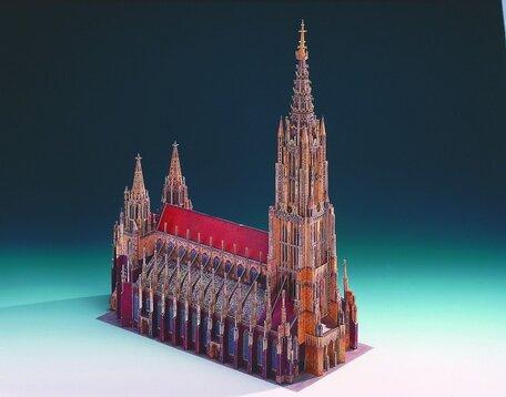 Schreiber Bogen Ulm Minster