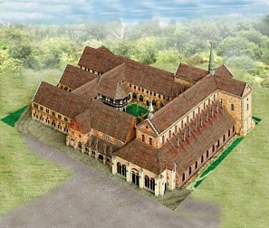 Schreiber Bogen Monastery Maulbronn