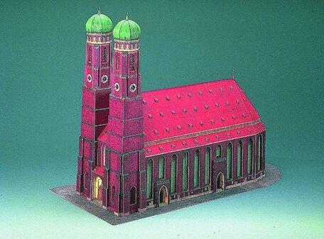 Schreiber Bogen Frauenkirche Munchen