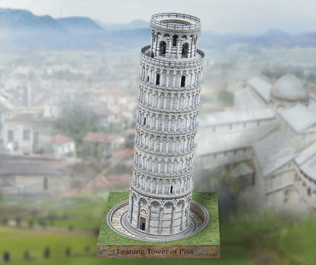 Schreiber Bogen Leaning Tower of Pisa