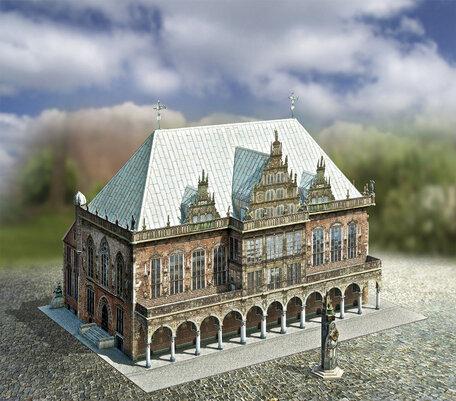 Schreiber Bogen Bremen Old Town Hall