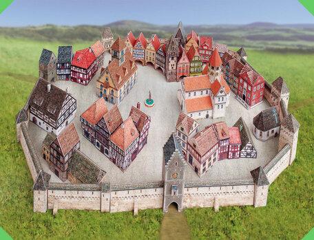 Schreiber Bogen Medieval Town