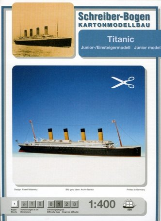 Schreiber Bogen Titanic