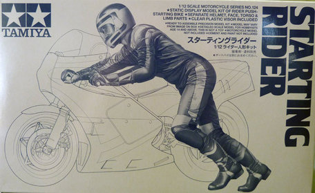 Tamiya Starting Rider 1:12