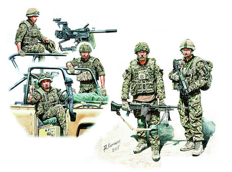 Master Box Modern UK Infantrymen 1:35