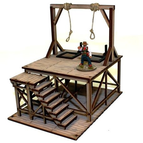 4Ground Feature Building: Hangman's Gallows