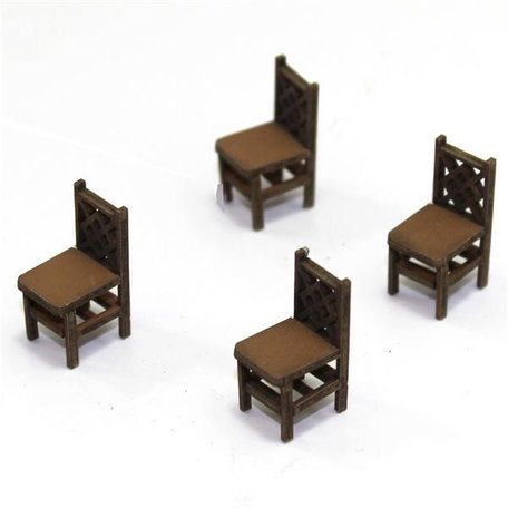 4Ground Square Back Chair A