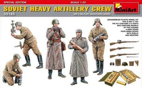 MiniArt Soviet Heavy Artillery Crew 1:35
