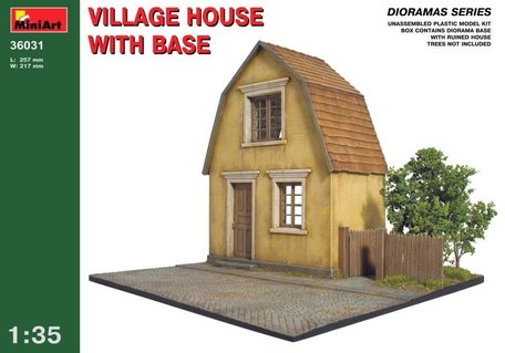 MiniArt Village House with Base 1:35